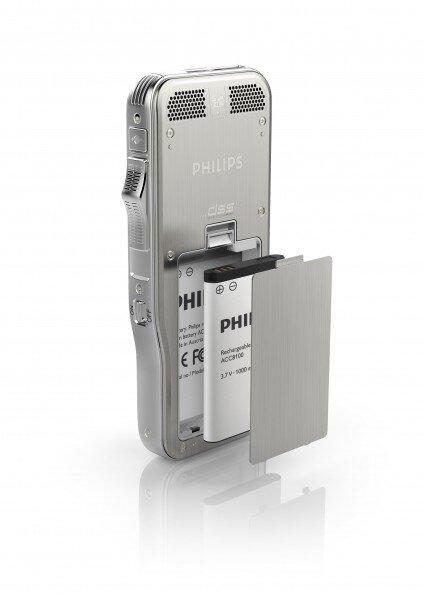 Philips DPM8000 digital voice recorder battery