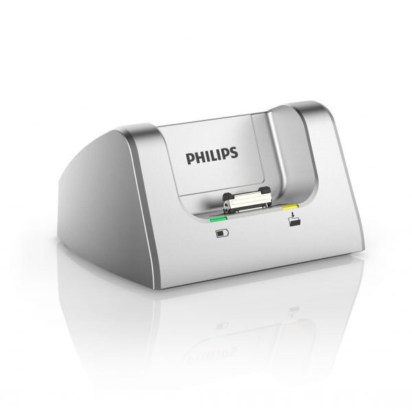 Philips DPM8000 voice recorder docking station