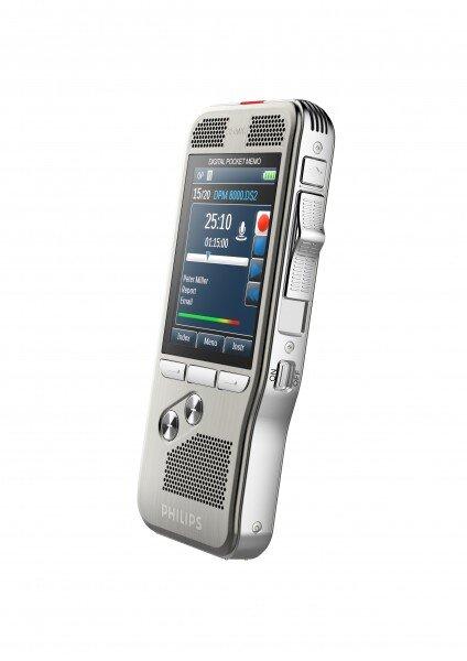Philips DPM8000 voice recorder motion sensor