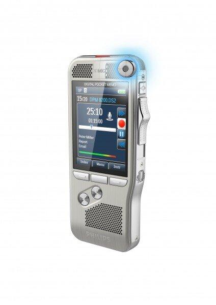 Philips DPM8000 digital voice recorder microphone