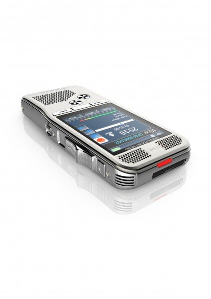 Philips DPM8000 voice recorder color display