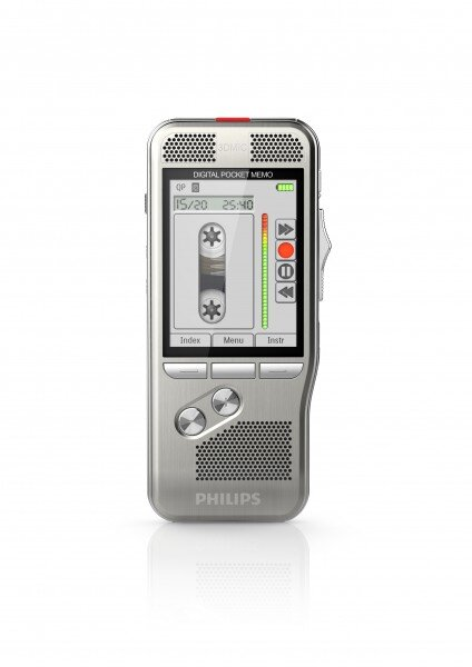 Philips DPM8000 digital voice recorder in classic mode