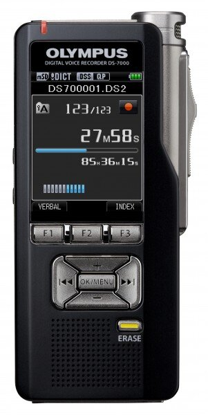 How to Reset an Olympus DS-7000 Digital Voice Recorder
