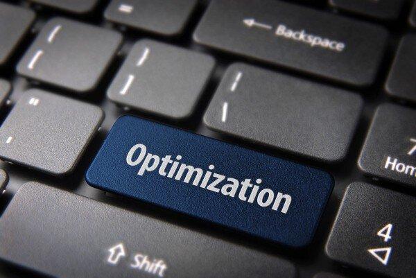 Keyboard with optimization key