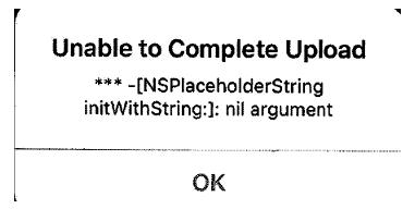 Philips Dictation Recorder App Error Message