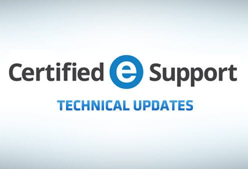 Certified eSupport Technical Updates banner